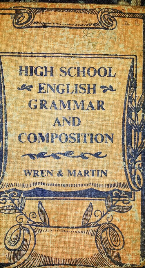 Wren N Martin Grammar Book - 123jetztmeinde
